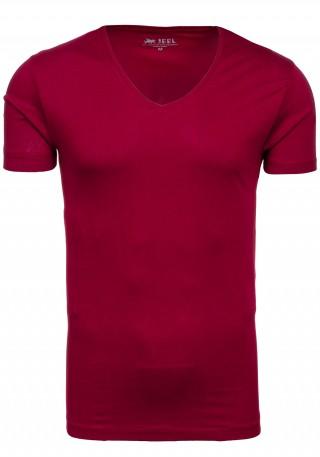 pol_pl_T-shirt-meski-JEEL-2126-bordowy-40077_1