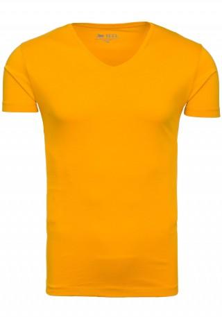 pol_pl_T-shirt-meski-JEEL-2126-musztardowy-40075_1