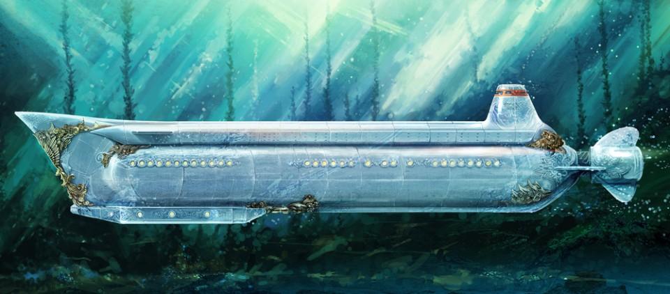 фото подводных лодок в воде