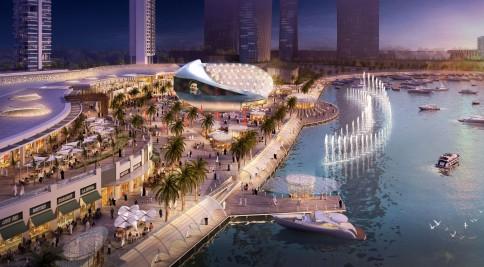 Tak ma wyglądać Lusail City / Zdj. http://www.designmena.com