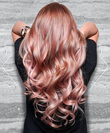 Rose gold najmodniejszy kolor w os w m ski blog modowy for Can you dye roses