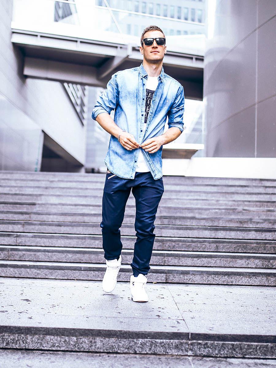 Koszula jeansowa królowa męskiej szafy! Męski blog  ndRDq