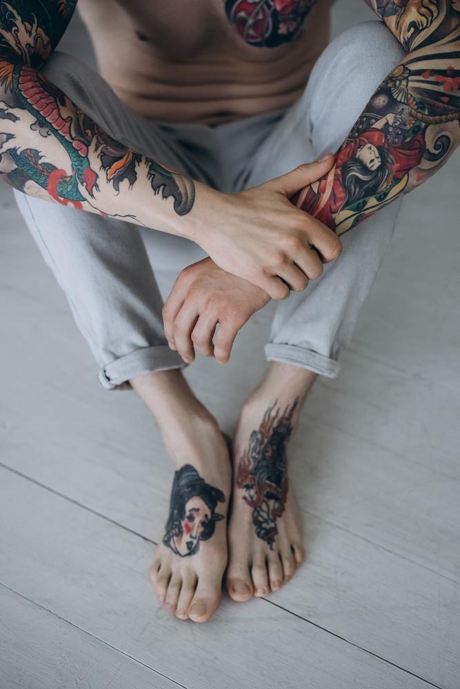 Jak Dbać O Tatuaż Męski Blog Modowy Stylizacje Porady