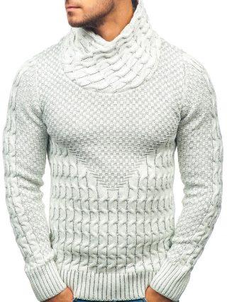 sweter z kominem