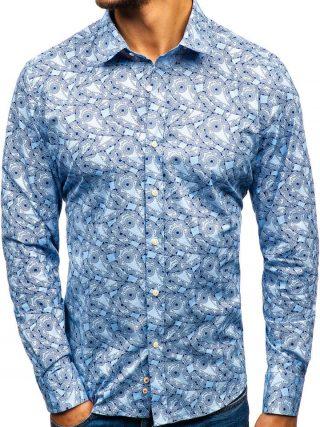 męska koszula paisley