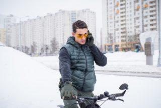 jak się ubrać na rower zimą