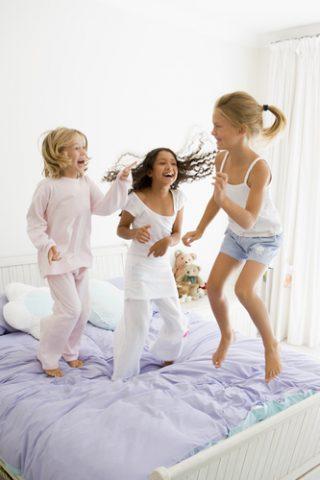 piżama party dla dzieci