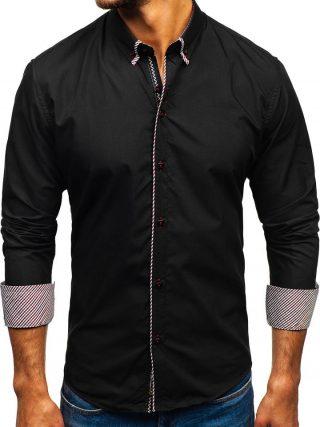 czarne ubrania męskie