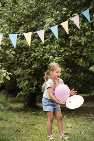 przyjęcie w ogrodzie dla dzieci