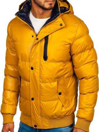 kolorowe ubrania, żółta kurtka