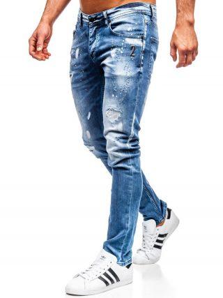 spodnie regular fit