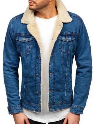 kurka jeansowa, kożuch jeansowy, katana